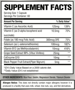 periocare supplement facts