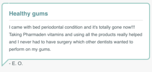 gum disease vitamin review